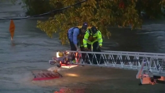 Dramatic Texas Flood Rescue