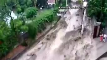 Dramatic Video Shows Peru Flooding