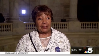 U.S. Rep. Eddie Bernice Johnson Reacts to Trump Address