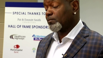 Pat and Emmitt Smith Charities Host Back To School Drive