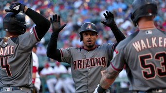 D'backs Tie Franchise Record With 21 Hits, Beat Rangers 19-4