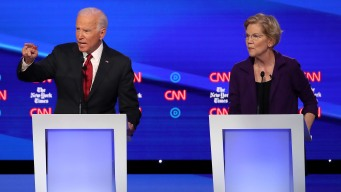 Biden, Warren Absence at California Gathering Irks Top Dems