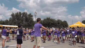 Paschal & Arlington Heights High School Bands Square Off