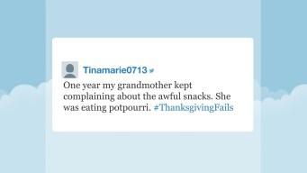 'Tonight' Hashtags: #ThanksgivingFails