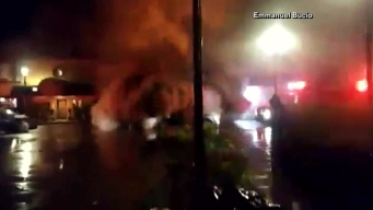 Fire Explosion Caught On Camera