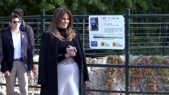First Lady Visits Beijing Zoo