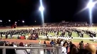Floresville Bands Honor Sutherland Springs
