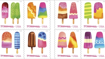 Scratch-and-Sniff Stamps Available Wednesday