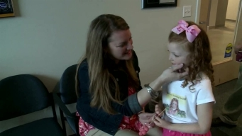 Girl Gets New Pink Prosthetic Hand