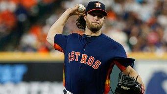 Cole's 12 Ks, Diaz's Slam Help Astros Top Rangers