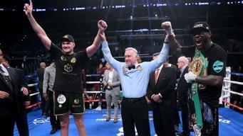 Wilder Ties Fury in Split Draw, Retains Heavyweight Title