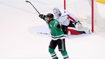 Seguin's 2nd Goal Lifts Stars Past Capitals 2-1 in OT