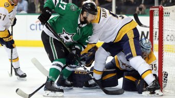 Stars Fall Behind in Best-of-Seven Series Against Nashville