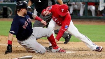 Red Sox Beat Rangers Tuesday Night
