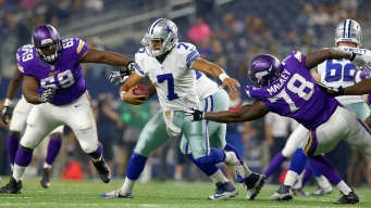 Cowboys Sign QB Showers To Practice Squad