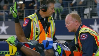 Seattle Player's Emotional Reunion With Arlington Paramedics