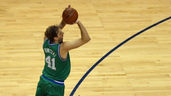 Dirk Scores 29,000th Point in Win Over 76ers
