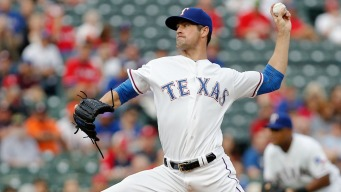 Pirates Spoil Night For Rangers' Banister, Hamels In 9-1 Win