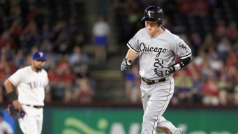 Grand Slam in 12th Leads White Sox Past Rangers