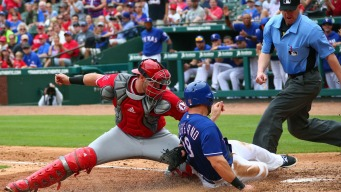Mazara Hits Long Homer as Rangers Beat Angels 15-9