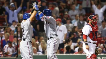 Choo, Chirinos Homer to Lead Rangers Past Red Sox