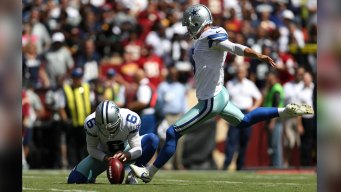 Cowboys' Kicker Bailey Played With Herniated Disc: Source