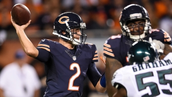 Cowboys to Face Bears' Backup QB After Cutler Injured