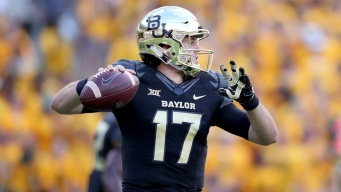 Russell Has 4 TD Passes, No. 16 Baylor Beats Oklahoma State