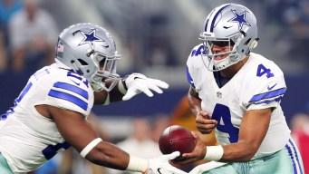 Rookie Dak Prescott Solid Again, Cowboys Beat Bears