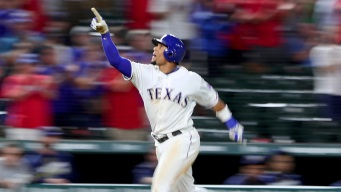 Rangers OF Carlos Gomez on Loyalty, Bat Collection
