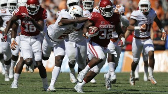 Sooners Hold On for 45-40 Win Over Texas