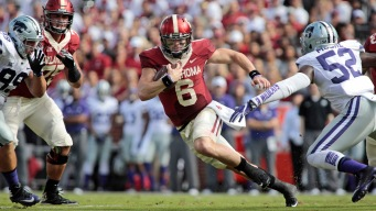Mayfield, Westbrook Lead No. 19 Sooners over K-State