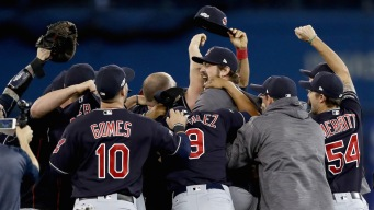 Cleveland Indians Advance to World Series