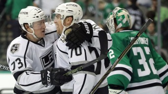 Martinez Scores in OT, Kings Beat Stars 4-3