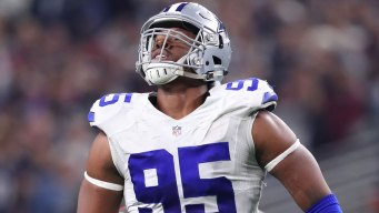 Pass Rusher Irving Among 3 Ruled Out for Cowboys vs Giants