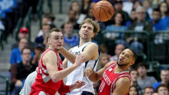 Rockets Top Mavs 123-107 in Technical-Marred Game