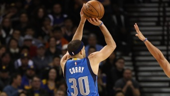 Curry's 24 Points Help Mavs Hold off Spurs, 105-101