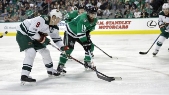 Stewart Scores Winner in Shootout, Wild Beat Stars 3-2