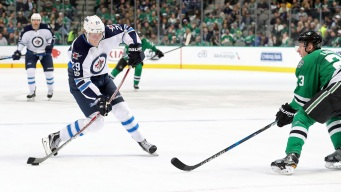 Scheifele Scores Twice, Jets Hold Off Stars 4-3