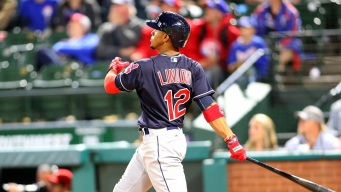 Lindor Slam Gives Indians Opening Sweep of Rangers