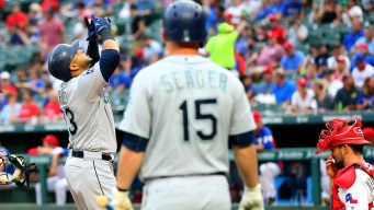 Cano Helps Push Mariners Past Rangers 8-7