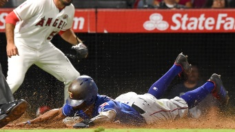 Angels Beat Rangers, Gain Ground in AL Wild-Card Race