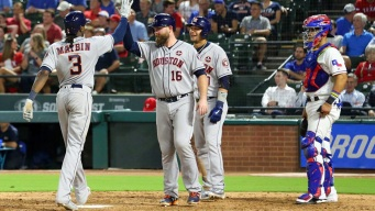 Astros Rout Rangers 14-3; Texas Eliminated in Wild Card Race