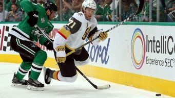 Neal Lifts Golden Knights Over Stars in Franchise Debut