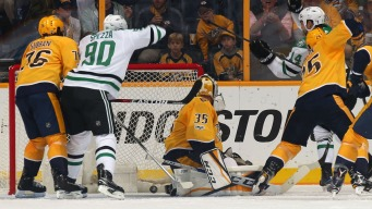 Girard's First NHL Goal Leads Predators Over Stars 4-1