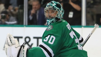 Stars Shut Out Islanders 5-0; Bishop's 1st Shutout of Season