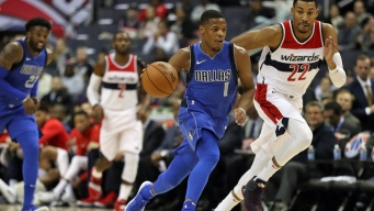 Mavericks Snap 6-Game Slide With Victory Over Wizards