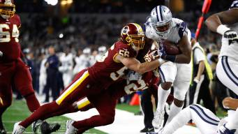 Cowboys Win Knocks Redskins Out of Playoffs