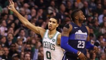 Short-Handed Celtics Earn Win Over Mavericks