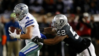 Dallas Cowboys Defeat Oakland Raiders 20-17